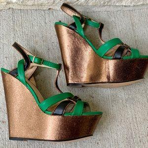 JustFab Wedge Heels Size 9
